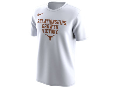 Texas Longhorns Nike 2018 NCAA Men's Legend Bench T-Shirt