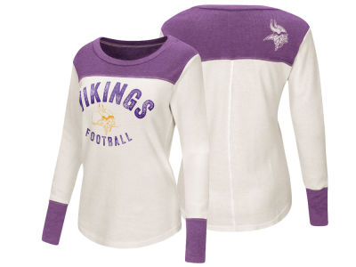 Minnesota Vikings Touch by Alyssa Milano NFL Women's Touch Thermal Long Sleeve T-Shirt