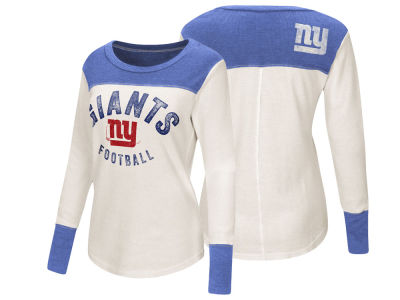 New York Giants Touch by Alyssa Milano NFL Women s Touch Thermal Long  Sleeve T-Shirt d095344c4