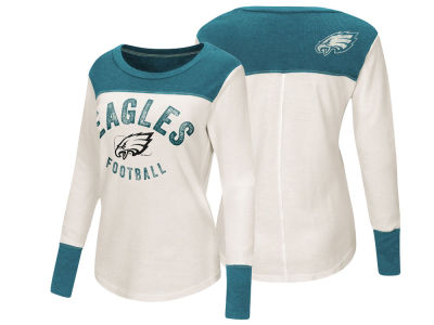 Philadelphia Eagles Touch by Alyssa Milano NFL Women's Touch Thermal Long Sleeve T-Shirt
