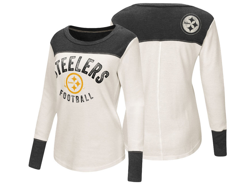 Pittsburgh Steelers Touch by Alyssa Milano NFL Women s Touch Thermal Long  Sleeve T-Shirt 868a233ac