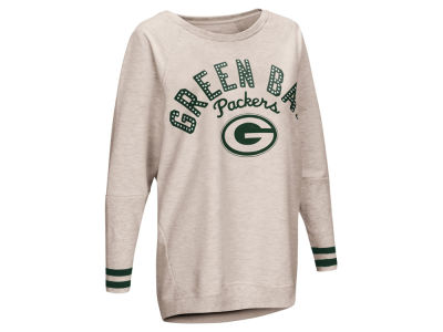 Green Bay Packers Touch by Alyssa Milano NFL Women's Touch Backfield Long Sleeve T-shirt