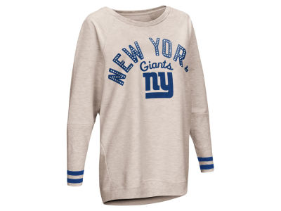 9b284dfa8 New York Giants Touch by Alyssa Milano NFL Women s Touch Backfield Long  Sleeve T-shirt