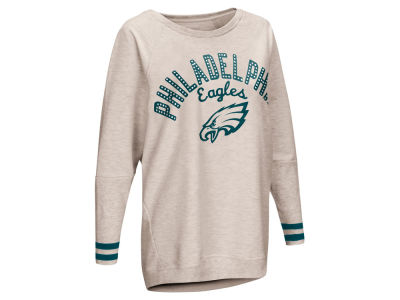 Philadelphia Eagles Touch by Alyssa Milano NFL Women's Touch Backfield Long Sleeve T-shirt