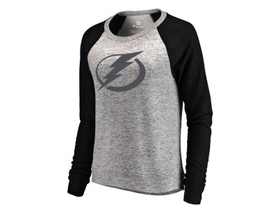 Tampa Bay Lightning Majestic NHL Women's Cozy Crew Neck Sweatshirt