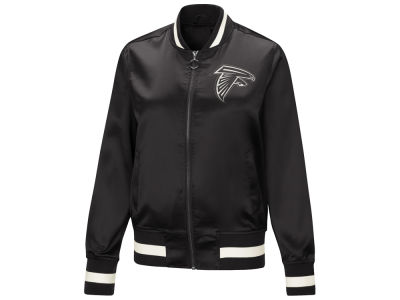 Atlanta Falcons Touch by Alyssa Milano NFL Women's Touch Satin Bomber Jacket