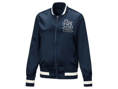 St. Louis Cardinals Touch by Alyssa Milano MLB Women's Touch Satin Bomber Jacket