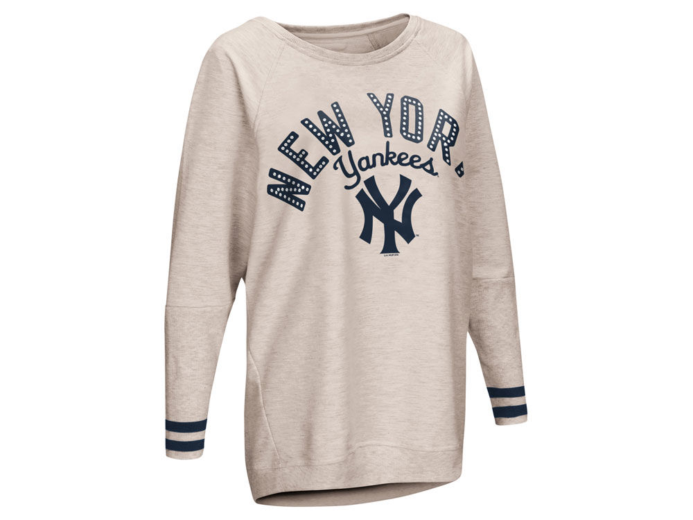 New York Yankees Touch by Alyssa Milano MLB Women s Touch Backfield Long  Sleeve T-shirt  203c45a6e7c