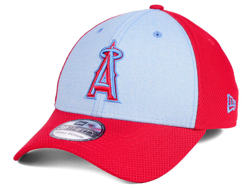 check out 27e63 d7156 ... official los angeles angels new era 2018 mlb fathers day 39thirty cap  a8e58 e491c