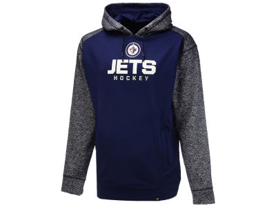 Winnipeg Jets NHL Men's Static Fleece Pullover Hoodie
