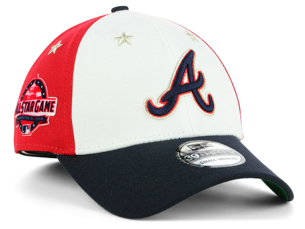 d11b9f57287 ... coupon code atlanta braves new era 2018 mlb all star game 39thirty cap  6ad27 807fc