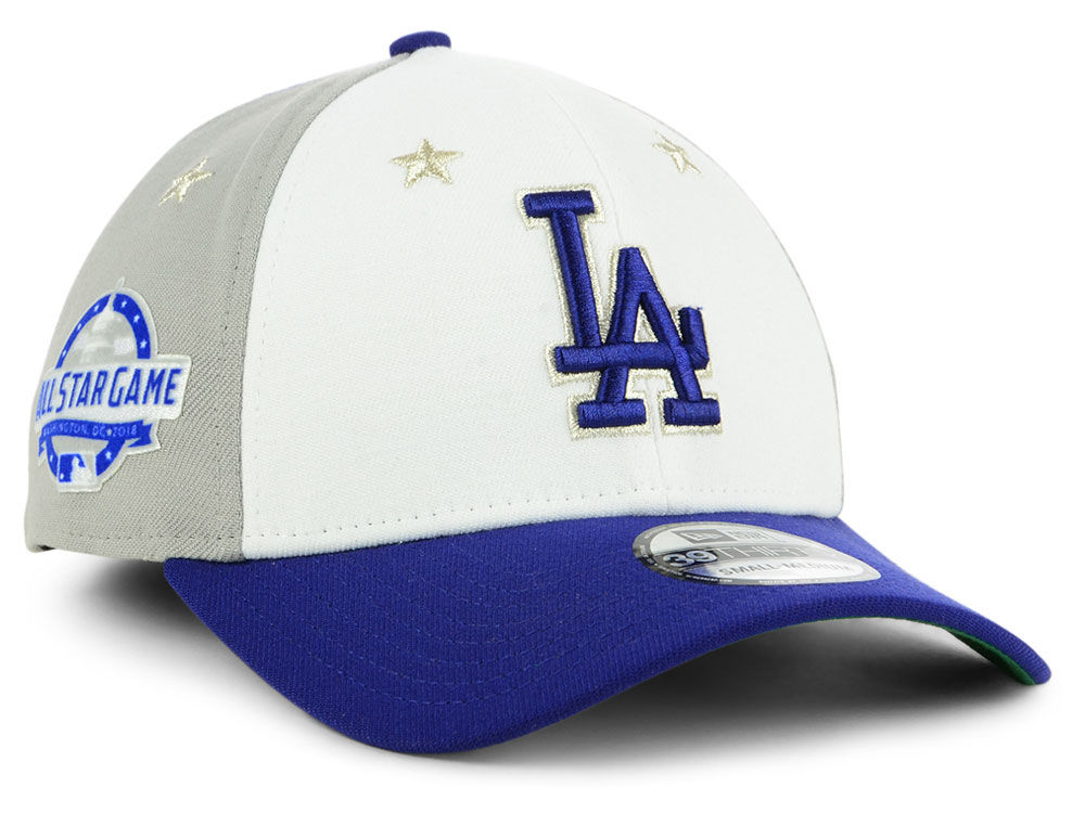 612460c21a4 Los Angeles Dodgers New Era 2018 MLB All Star Game 39THIRTY Cap ...