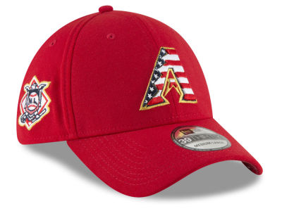 Arizona Diamondbacks New Era 2018 MLB Stars and Stripes 39THIRTY Cap