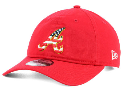 Atlanta Braves New Era 2018 MLB Stars and Stripes 9TWENTY Cap
