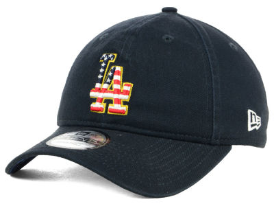 Los Angeles Dodgers New Era 2018 MLB Stars and Stripes 9TWENTY Cap