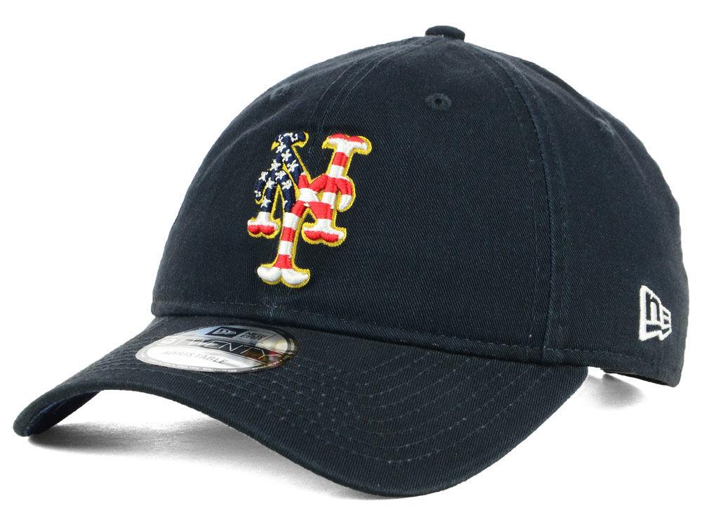 New York Mets New Era 2018 MLB Stars and Stripes 9TWENTY Cap  9f7e980649a