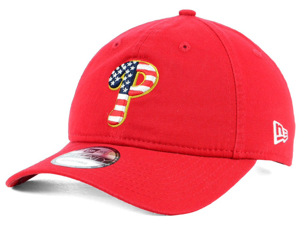 outlet store dcbe8 4e22f aliexpress philadelphia phillies new era 2018 mlb stars and stripes 9twenty  cap 55a30 4eaba