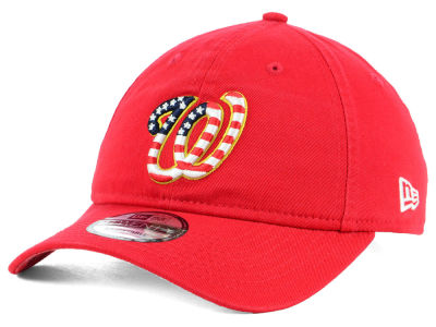 Washington Nationals New Era 2018 MLB Stars and Stripes 9TWENTY Cap