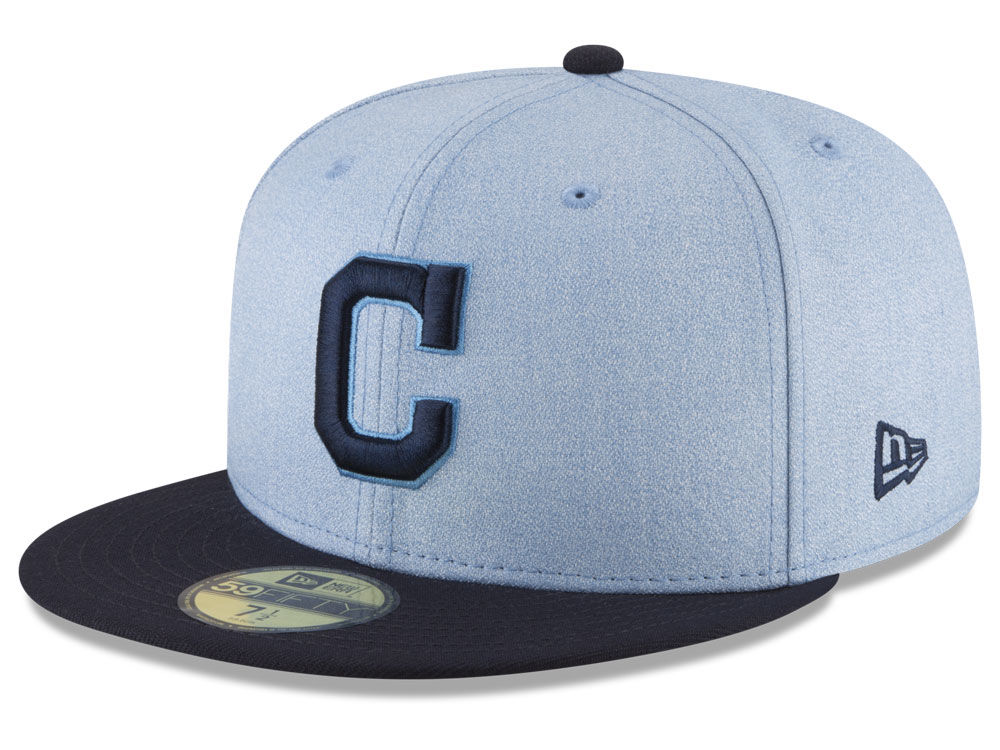 246bcee5b57 Cleveland Indians New Era 2018 MLB Father s Day 59FIFTY Cap