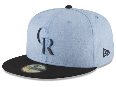 Colorado Rockies New Era 2018 MLB Father's Day 59FIFTY Cap