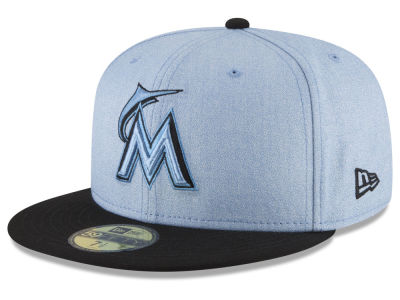 Miami Marlins New Era 2018 MLB Father's Day 59FIFTY Cap
