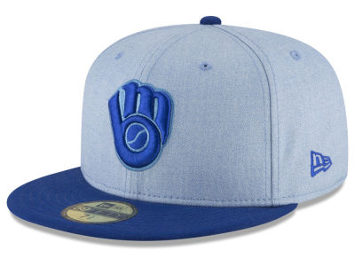 Milwaukee Brewers New Era 2018 MLB Father's Day 59FIFTY Cap