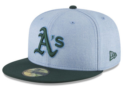 Oakland Athletics New Era 2018 MLB Father's Day 59FIFTY Cap