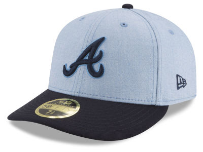 Atlanta Braves New Era 2018 MLB Father's Day Low Profile 59FIFTY Cap