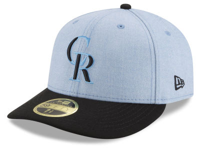 pretty nice b2089 73283 ... coupon for colorado rockies new era 2018 mlb fathers day low profile  59fifty cap 0e300 a921c