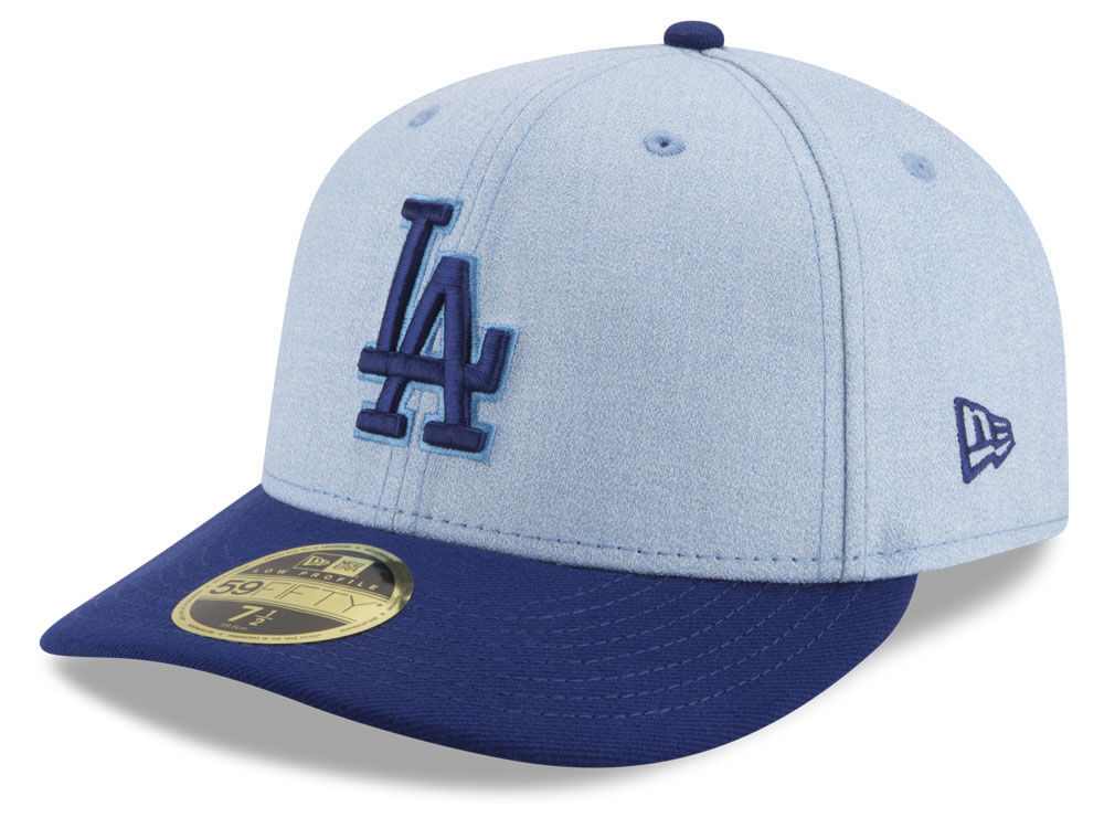 Los Angeles Dodgers New Era 2018 MLB Father s Day Low Profile 59FIFTY Cap  b84048a5416