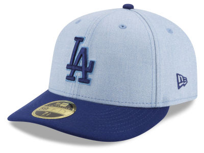 Los Angeles Dodgers New Era 2018 MLB Father's Day Low Profile 59FIFTY Cap