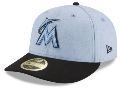 Miami Marlins New Era 2018 MLB Father's Day Low Profile 59FIFTY Cap