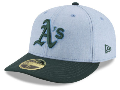 Oakland Athletics New Era 2018 MLB Father's Day Low Profile 59FIFTY Cap