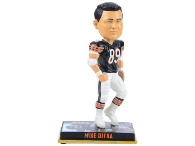 "Chicago Bears Mike Ditka Forever Collectibles 8"" Retired Player Bobbleheads"