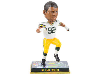 "Green Bay Packers Reggie White Forever Collectibles 8"" Retired Player Bobbleheads"