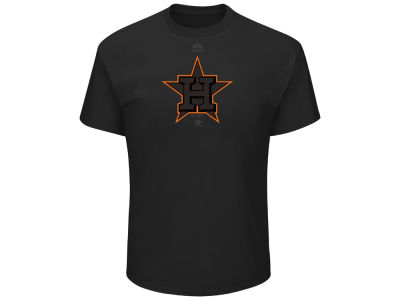 Houston Astros MLB Men's Pitch Black Focus T-Shirt