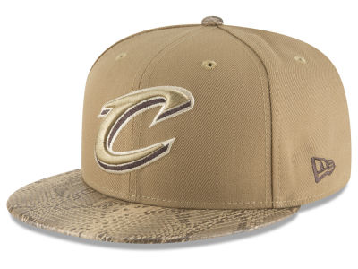 premium selection fb90c e5714 ... wholesale cleveland cavaliers new era nba snakeskin sleek 59fifty cap  dd5cf 95e8b
