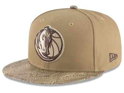 Dallas Mavericks New Era NBA Snakeskin Sleek 59FIFTY Cap