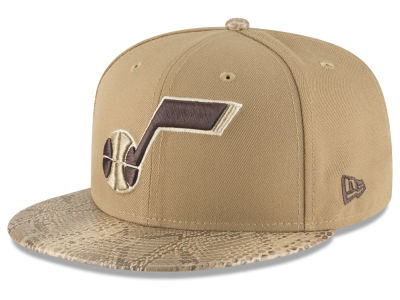 Utah Jazz New Era NBA Snakeskin Sleek 59FIFTY Cap