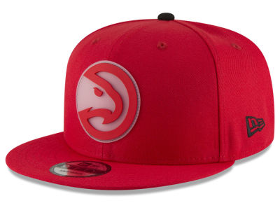 Atlanta Hawks New Era NBA Team Cleared 9FIFTY Snapback Cap