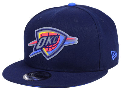 Oklahoma City Thunder New Era NBA Team Cleared 9FIFTY Snapback Cap