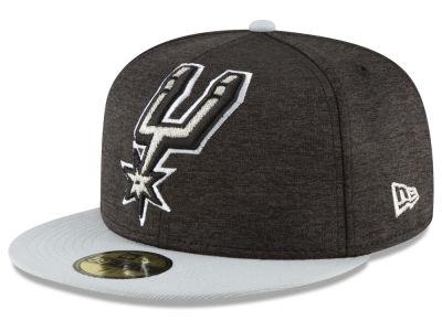 new style 8ea3a 93c75 San Antonio Spurs New Era NBA Heather Huge 59FIFTY Cap