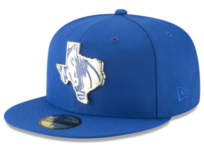 Dallas Mavericks New Era NBA Gold Stated 59FIFTY Cap