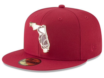 best value d4b04 1b2d5 ... authentic miami heat new era nba gold stated 59fifty cap beb47 d95d6