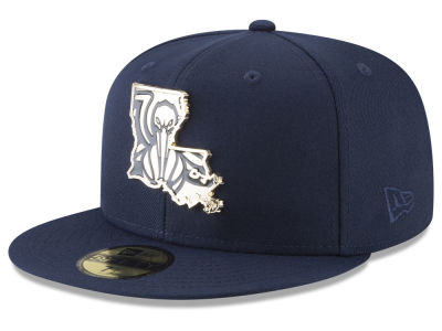 New Orleans Pelicans New Era NBA Gold Stated 59FIFTY Cap