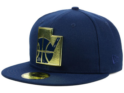 Utah Jazz New Era NBA Gold Stated 59FIFTY Cap