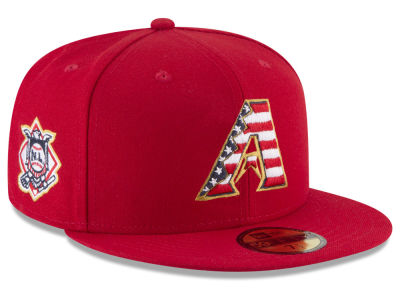 Arizona Diamondbacks New Era 2018 MLB Stars and Stripes 59FIFTY Cap