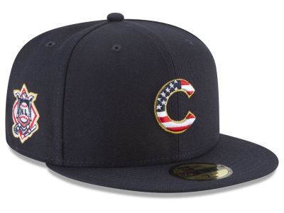 Chicago Cubs New Era 2018 MLB Stars and Stripes 59FIFTY Cap