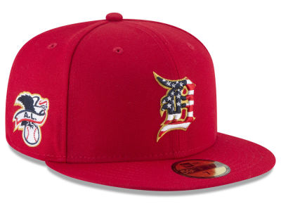 Detroit Tigers New Era 2018 MLB Stars and Stripes 59FIFTY Cap