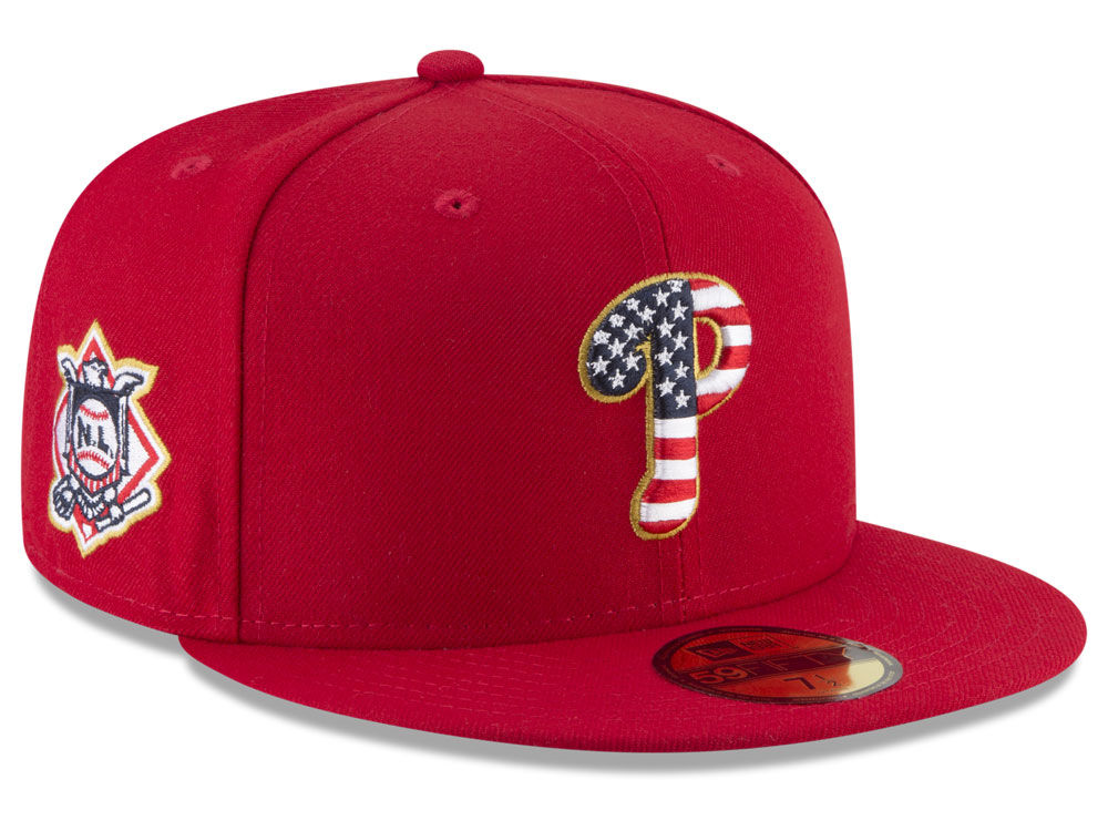 pretty nice 58cf0 04d74 ... where can i buy philadelphia phillies new era 2018 mlb stars and stripes  59fifty cap 55546